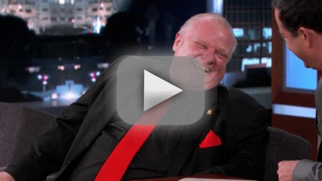 Rob Ford on Jimmy Kimmel Live (Part 1)