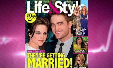 Robert Pattinson, Kristen Stewart Getting Married?