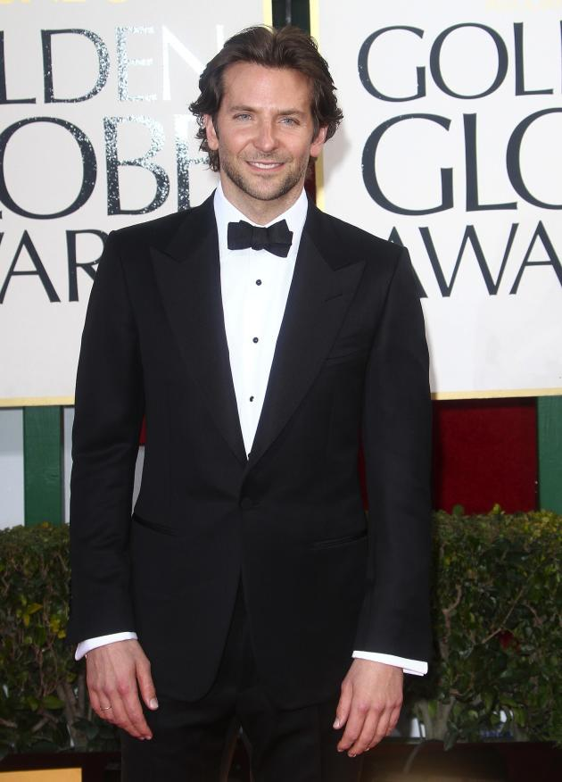 Bradley Cooper at the Golden Globes
