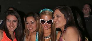 Paris Hilton at Coachella