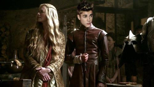 Justin Bieber as Joffrey