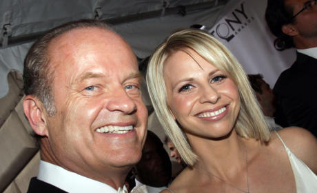 Kelsey Grammer Gushes Over Kayte Walsh, Touches on Custody Battle