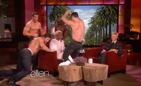 NeNe Leakes, Strippers Appear on Ellen