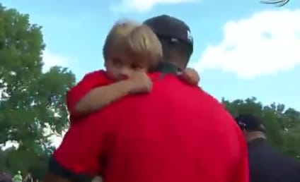 Tiger Woods, Son Charlie Savor Latest Golf Victory