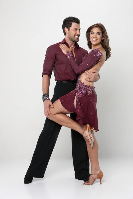 Hope Solo and Maksim Chmerkovskiy