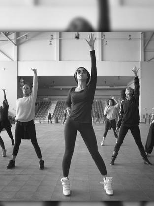Beyonce Rehearsal Photo