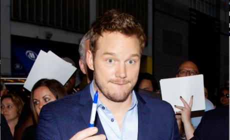 Chris Pratt Lends a Pen