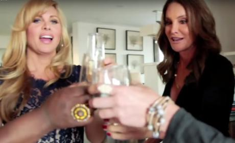 Caitlyn Jenner and Candis Cayne