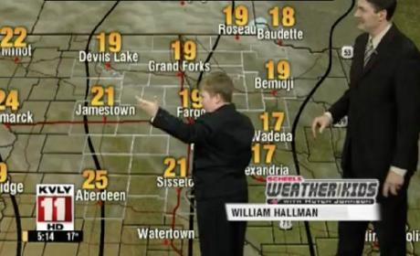 Weather Kid Steals The Show