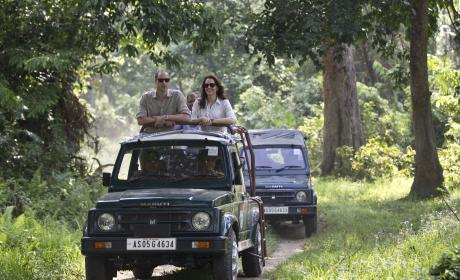 William and Kate Go On Safari