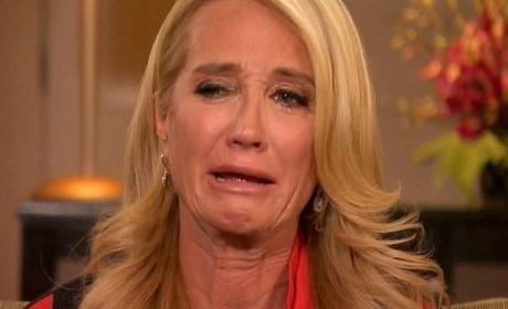 Kim Richards in Tears