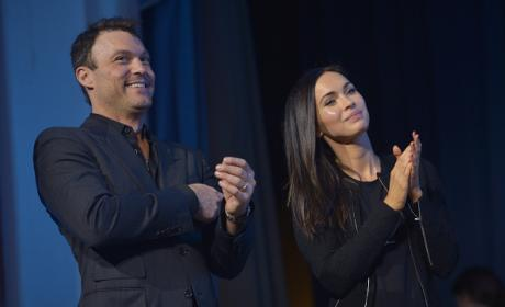 Brian Austin Green and Megan Fox Together