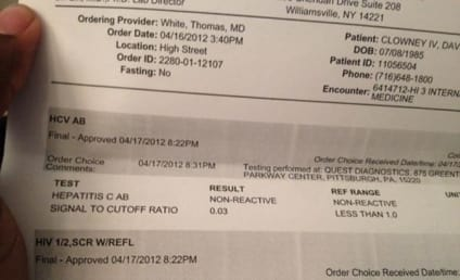 David Clowney, Bills WR, Tweets HIV Test Results to the World