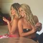 Kim Zolciak and Brielle Biermann back to back