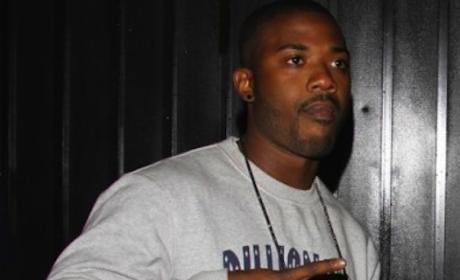 Ray J: Arrested For Causing Scene at Hotel, Spitting on Officers, Smashing Cop Car Window!