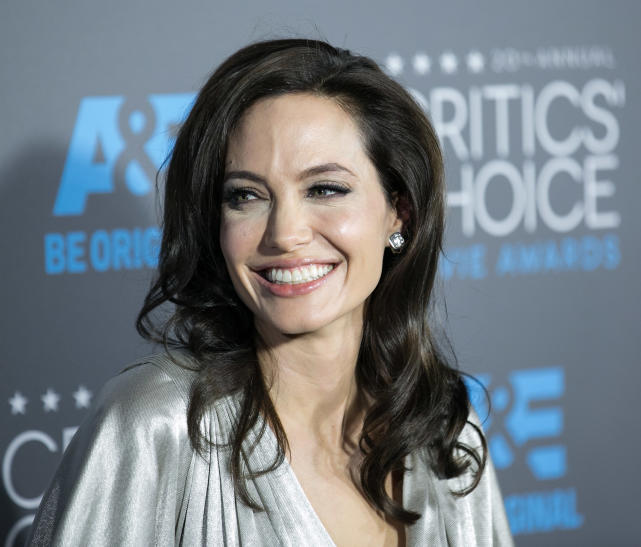 Angelina Jolie Smiles