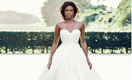 Gabrielle Union's Wedding Dress