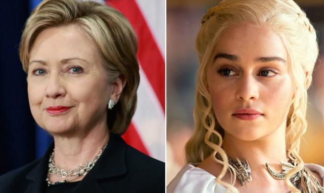 Hillary vs. Daenerys