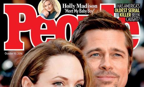 Angelina Jolie and Brad Pitt Cover