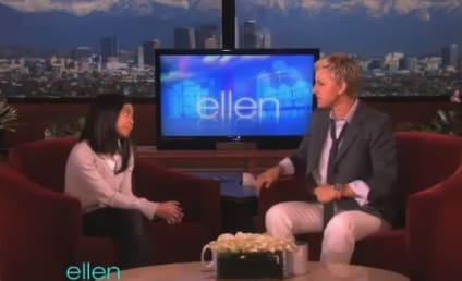 "Maria Aragon Performs ""Born This Way"" on Ellen"