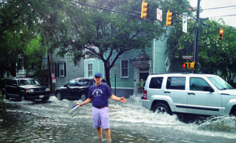 Kevin Spacey Gets Stuck in South Carolina Flood, Tweets Photo