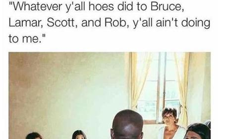 Kanye West-Kardashians Meme