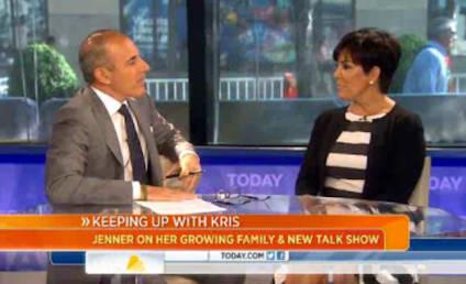 Kim Kardashian Baby Photos to Premiere on Kris Jenner Talk Show?