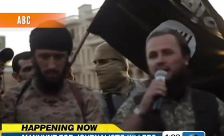 Steven Sotloff: Threatened in James Foley Video