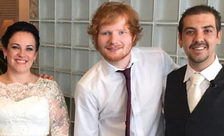Ed Sheeran: His Surprise Wedding Performance!