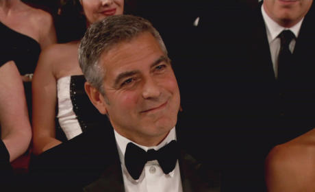 George Clooney in the Crowd