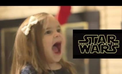 Toddler Reacts in Crazy Delight to Star Wars Trailer