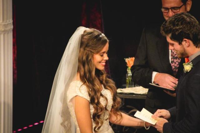 Jessa the embarressed bride