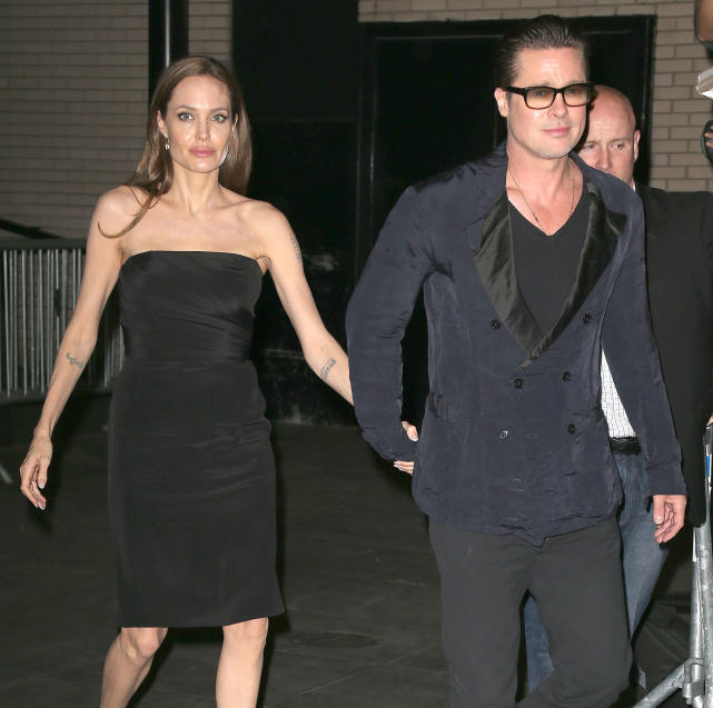 Angelina Jolie at Normal Heart Premiere