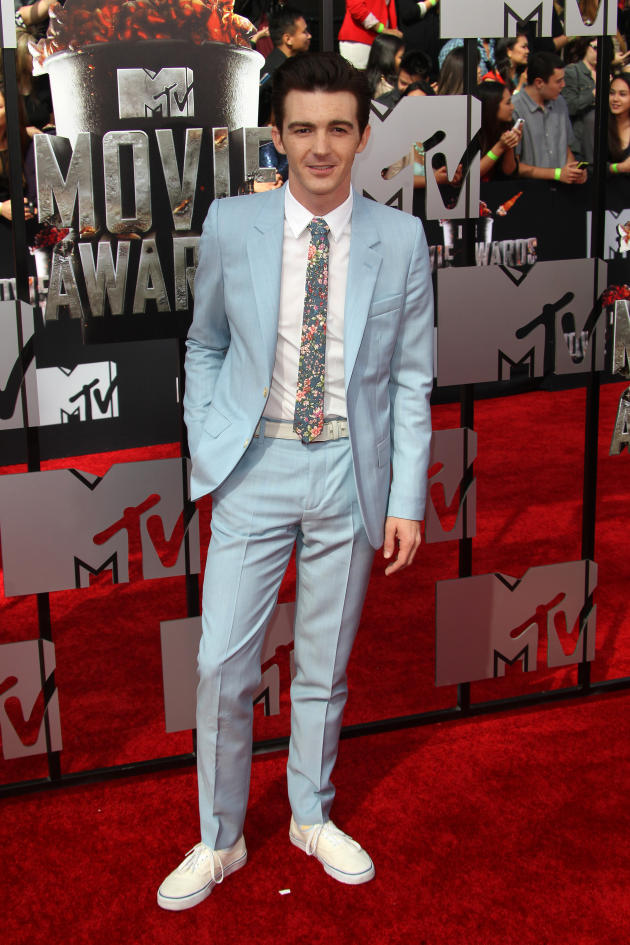 Drake Bell at MTV Movie Awards