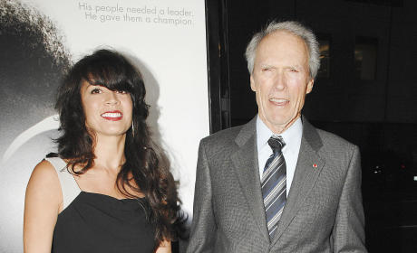 Clint Eastwood and Wife