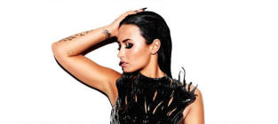 Demi Lovato Reveals Album Cover, Track List (In Very Cool Fashion)