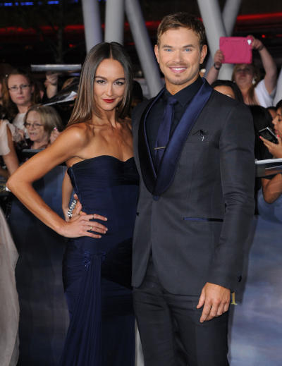 Sharni Vinson and Kellan Lutz Picture