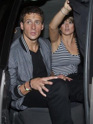 Ryan Lochte Partying