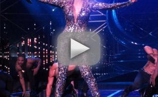 Jennifer Lopez Takes Bow in Vegas, Splits Open Pants