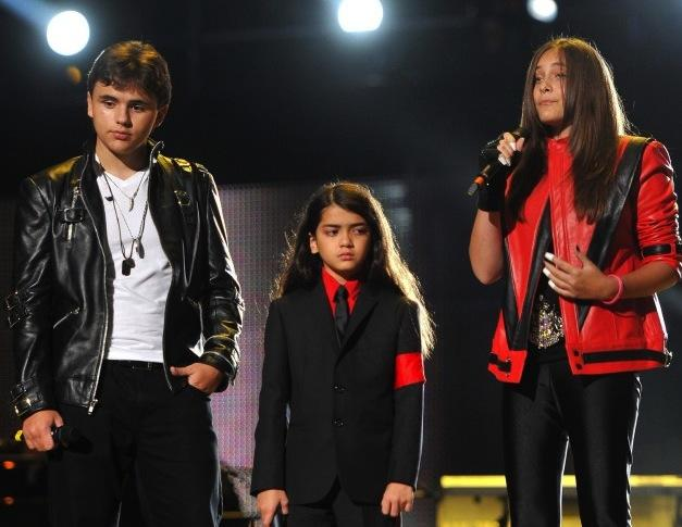 Prince, Paris and Blanket Jackson