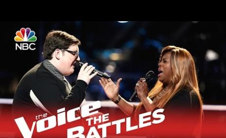 Jordan Smith vs. Regina Love (The Voice Battle Round)