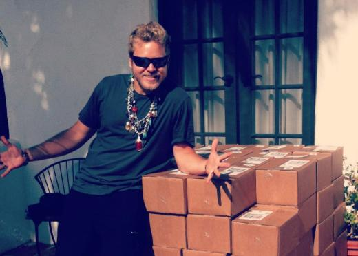 Spencer Pratt Chills Out