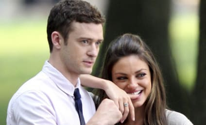"""Justin Timberlake: """"Flirting"""" With Mila Kunis!"""
