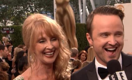 Aaron Paul Photobombs Bryan Cranston, Gushes Over Lauren Parsekian