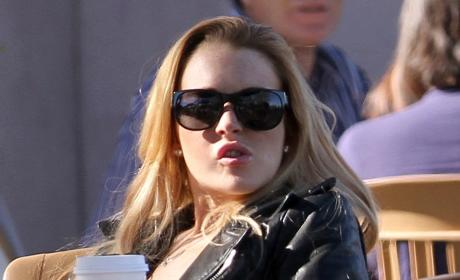 Lindsay Lohan: Stalked at Betty Ford!