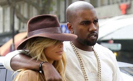 "Kim Kardashian and Kanye West Holler ""We Want Prenup""? YEAH!"