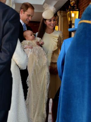 Royal Family at Christening