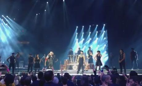 Madonna and Psy - Gangnam Style (Live at MSG)