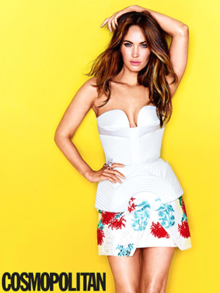 Megan Fox in Cosmo