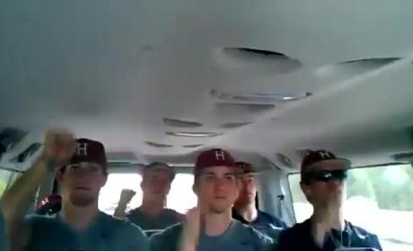 "Harvard Baseball Team Rocks Out to ""Call Me Maybe"""